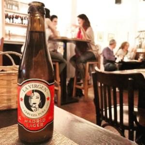 Cerveza La Virgen Madrid Lager