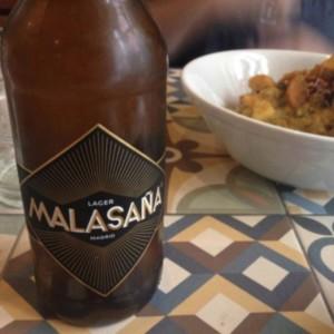 Cerveza Malasaña Pilsen