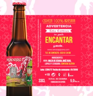 Cerveza Irish Red Corn de Piporra