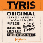 Imagen de la marca de cerveza Tyris