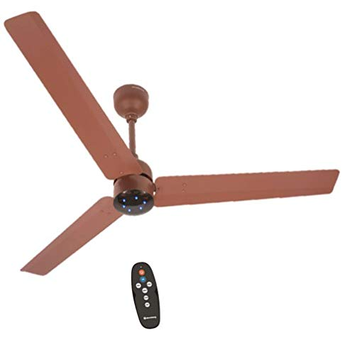 Atomberg Renesa 1200 mm BLDC Motor with Remote 3 Blade Energy Saver Ceiling Fan (Matte Brown, Pack of 1)