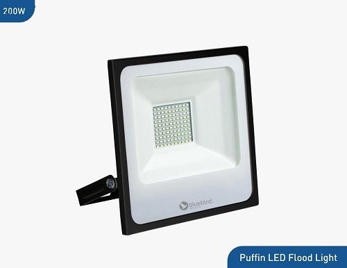 Bluebird Puffin High Lumen LED Flood Light 200 Watt, 220-240V, Waterproof IP65 (White)