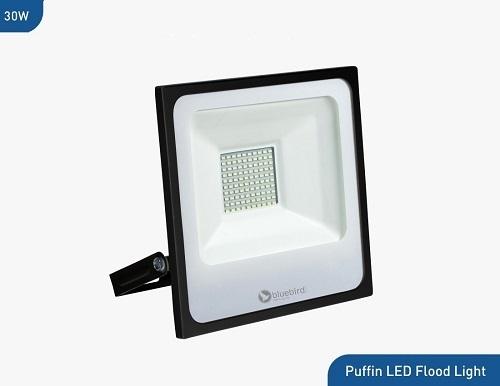 Bluebird Puffin High Lumen LED Flood Light 30 Watt, 220-240V, Waterproof IP65 (White)
