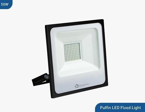 Bluebird Puffin High Lumen LED Flood Light 50 Watt, 220-240V, Waterproof IP65 (White)