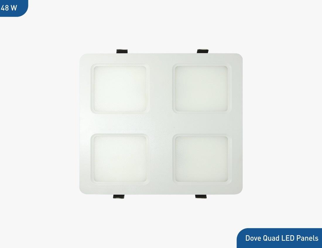 Bluebird LED Quad Backlit Panel 48 Watt, 220-240V (Cool White/Natural White/ Warm White)