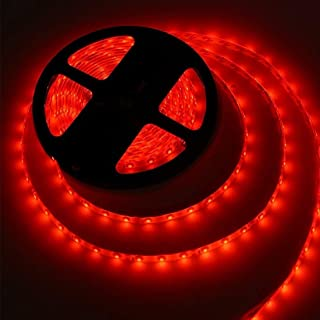 LED Strip Light  5050-60 LED Cove Light 5mtr roll (Red, Pack of 1) 24W without driver