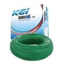 KEI 0.75 Sq.mm x 90mtr FR PVC Insulated Single Core Copper Wire