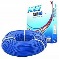 KEI 1.5 Sq.mm x 90mtr FR PVC Insulated Single Core Copper Wire