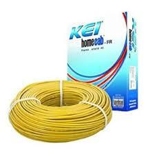 KEI 4.0 Sq.mm x 90mtr FR PVC Insulated Single Core Copper Wire