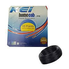 KEI 6.0 Sq.mm x 90mtr FR PVC Insulated Single Core Copper Wire