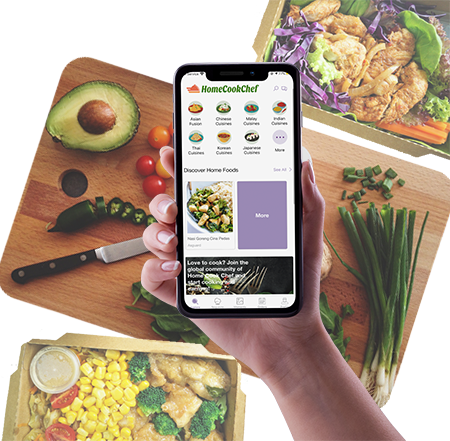 Home Cook Chef App
