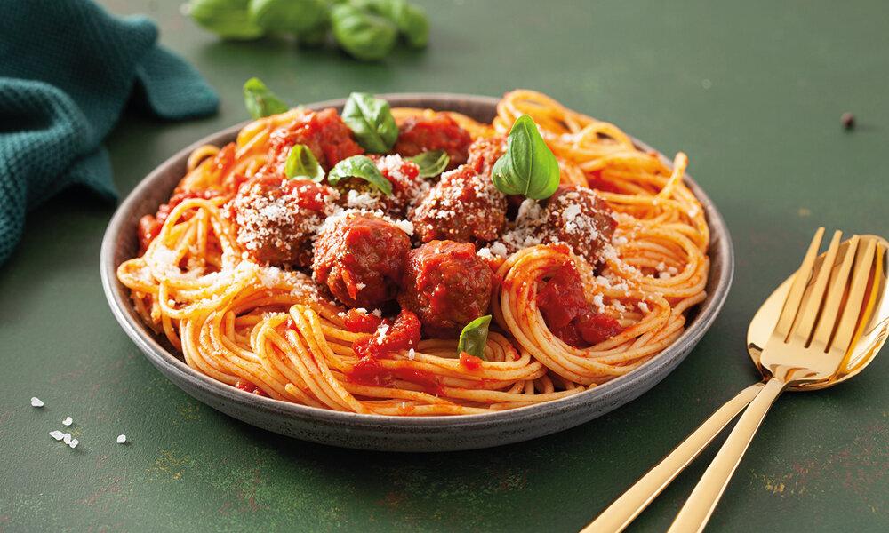 Meatballs Spaghetti