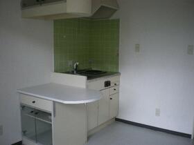 ベルピア妙蓮寺 205号室のキッチン