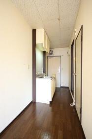 コスモヴィラ 203号室のキッチン