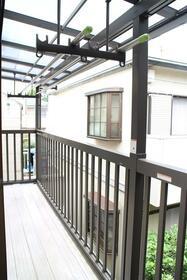 中島住宅‐2のバルコニー