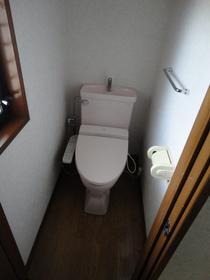 フラット'95 202号室のトイレ