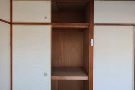 シャルム小向 203号室の収納
