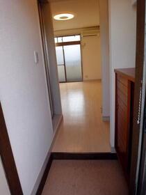 グランジャ横浜 203号室の玄関