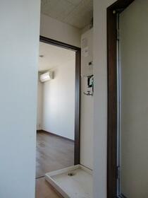 リバーサイド・シモゴー 206号室の玄関