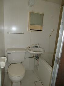 リバーサイド・シモゴー 206号室のトイレ