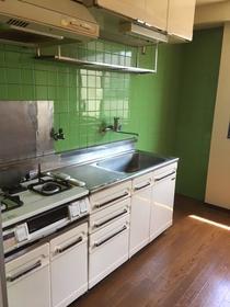 蒔田レジデンス 301号室のキッチン
