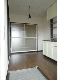 コーポ360 101号室の玄関