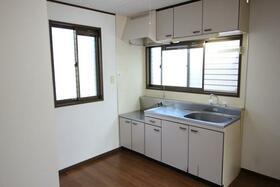 シャルム田中 101号室のキッチン