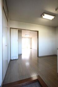 GOライズマンション 203号室の玄関
