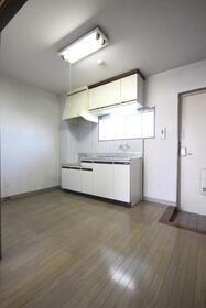GOライズマンション 203号室のキッチン