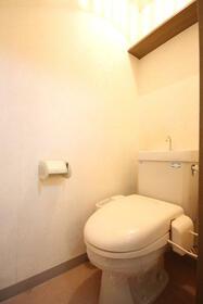 GOライズマンション 203号室のトイレ
