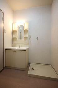 GOライズマンション 203号室の洗面所