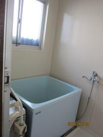 若林荘 102号室の風呂