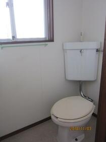 若林荘 102号室のトイレ
