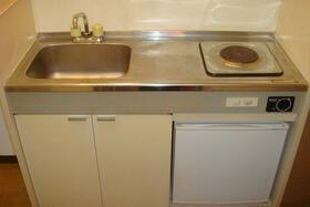アルベルジュ 102号室のキッチン