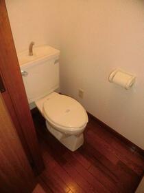 ハイルエステ 101号室のトイレ