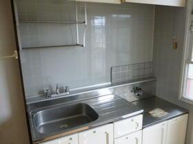 ウエストバレー 204号室のキッチン