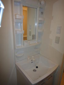 浦和プラザA 101号室の洗面所