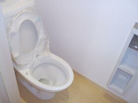 パレスグランメール A棟 101号室のトイレ
