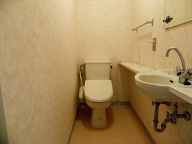EX1 203号室のトイレ