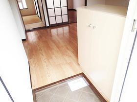 けやきハイツB棟 205号室の玄関
