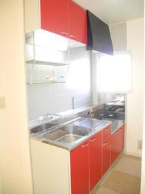 サンシティハシド 201号室のキッチン