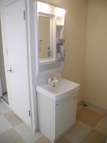 サンシティハシド 201号室の洗面所