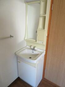堀ハイツ2 201号室の洗面所