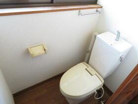 堀ハイツ2 201号室のトイレ