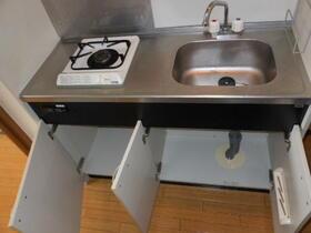 マンションオアシス 302号室のキッチン