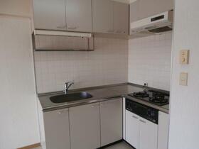 マインドチャージパレス 1603号室のキッチン
