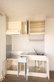 マーキュリーハイツD棟 203号室のキッチン
