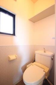 マーキュリーハイツD棟 203号室のトイレ