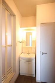 マーキュリーハイツD棟 203号室の洗面所