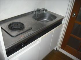 メゾン3番館 105号室のキッチン
